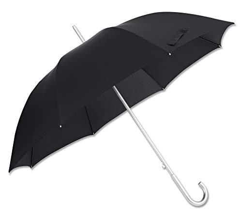 SAMSONITE Alu Drop S - Man Auto Open Regenschirm, 96 cm, Black