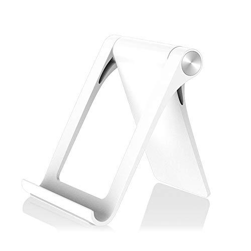 Sunydog Soporte para teléfono Celular para Escritorio Soporte para teléfono Ajustable y Plegable para Soporte para Tableta de Video para Escritorio Adecuado para teléfonos Inteligentes/tabletas de 3