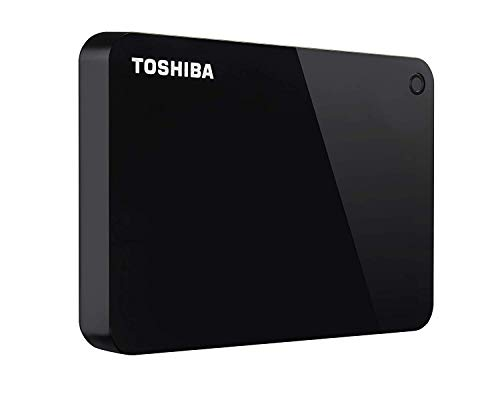 HD Externo Portátil Toshiba Canvio Advance 2TB Preto USB 3.0 - HDTC920XK3AA
