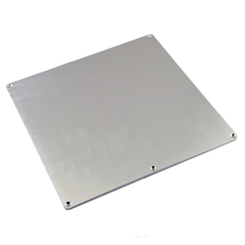 [Gulfcoast Robotics] Anodized Aluminum Build Plate for Heated Bed with 3-Point Leveling fits Wanhao Duplicator i3 Anet A8 MP Maker Select 3D Printers (220x220mm)