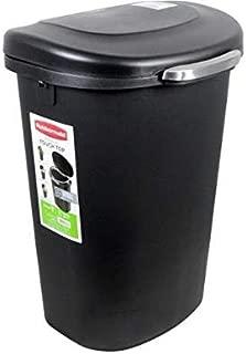 Best rubbermaid 13 gallon premium touch top waste bin black Reviews