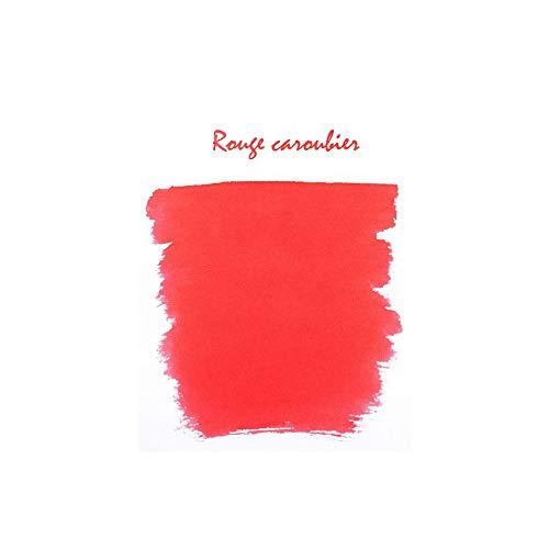 J. Herbin Ink Cartridges Rouge Caroubier