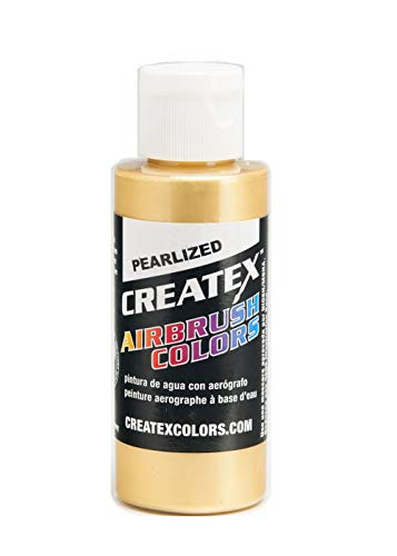Farbe CREATEX Airbrush Colors Pearlized 5307 Satin gold