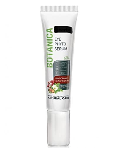 Sérum pour le contour des yeux « Rose sauvage & Ginseng » Botanique