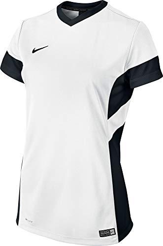 NIKE Academy Camiseta, Mujer, Blanco/Negro (White/Black/Black), XL