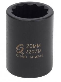 Sunex 218zm 1/2-Inch Drive 18-mm 12-Point Impact Socket by Sunex International
