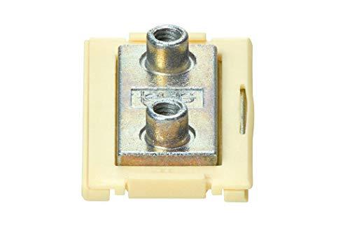 drylin® N Führungsschlitten iglidur® J NW-02-27-LLYZ/H=9,5mm/ A=14mm/ C2=20