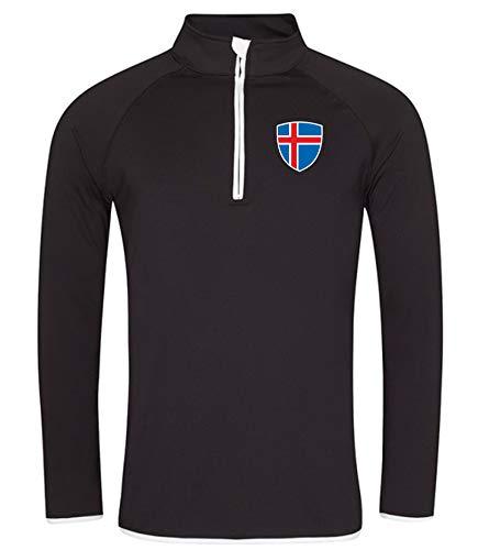 Nation Island Sweatshirt Sport Atmungsaktiv UV-Schutz JC SC-W (M)