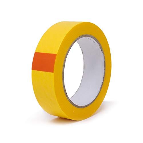 gws Goldband dünnes Profi-Abdeckband | Washi-Tape mit orginal japanischem Reispapier | versch. Breiten | Länge: 50 m | Maler-Klebeband (1 Rolle - 30 mm breit)