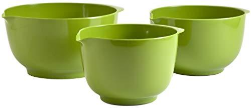 ChefTool Melamine Mixing Bowl Gift Box – Green44; Set of 4