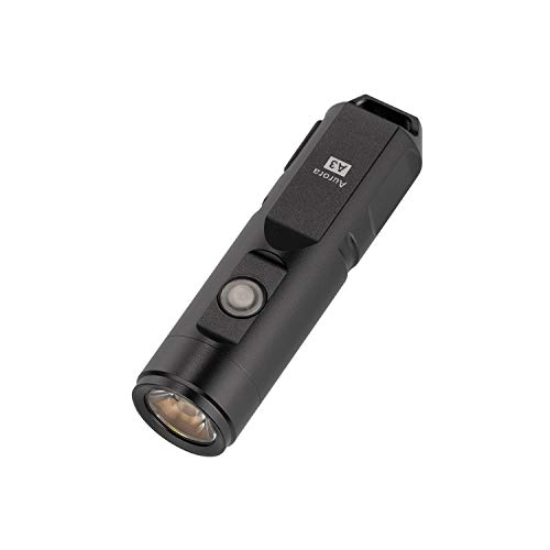 RovyVon Aurora A3x 650 Lumens USB Rechargeable Flashlight, XP-G3 Small LED Flashlight