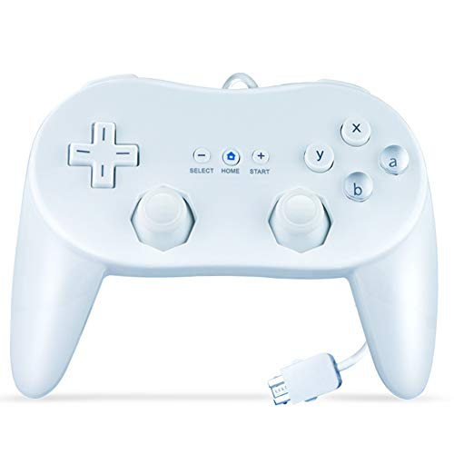 SONVIEE Classic Controller Pro per Nintendo Wii, Wired Wii Gamepad Pro Pad per giochi Wii classici
