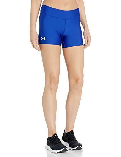 Under Armour Damen On The Court 10,2 cm Shorts, Damen, Royal (400)/Weiß, XX-Large