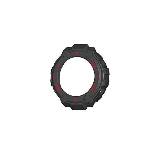 jiheousty Para Amazfit-T Rex- Estuche de Reloj Cubierta Protectora Suave Shell Protector de Marco de Parachoques