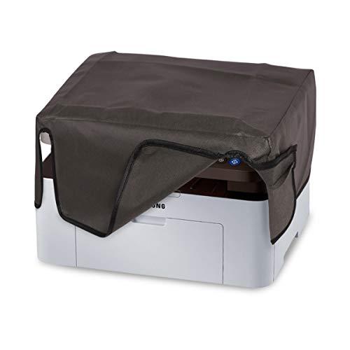 kwmobile Hülle kompatibel mit Samsung SL-M2070 / M2070W - Drucker Staubschutzhülle Schutzhaube Schutzhülle - Dunkelgrau