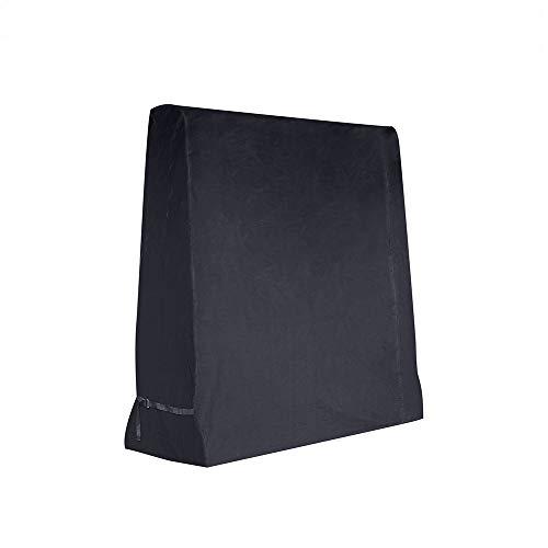 Dellcciu Tischtennisplatte Abdeckung, Abdeckhaube Tischtennisplatte - Outdoor Abdeckung Tischtennis 165 x 70 x 185 cm