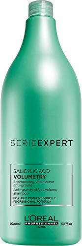 L'Oreal Professionnel - Shampoing pour Cheveux - Soin et Volume - Serie Expert Volumetry Anti-Gravity Effect Shampoo - 1500ml