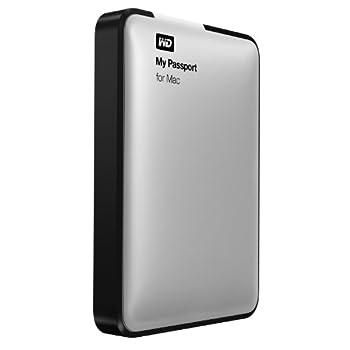 Western Digital WD My Passport for Mac WDBLUZ0010BSL 1 TB External Hard Drive