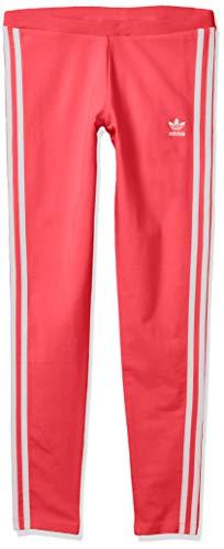 adidas Originals Women's 3-Stripes Leggings, Medium Grey Heather, Small