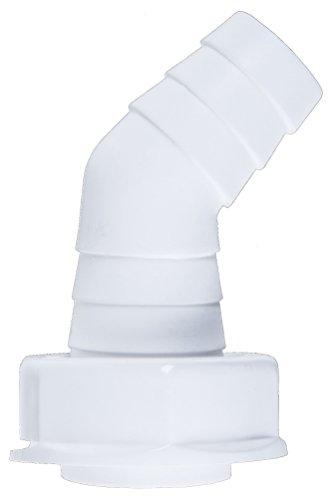 Cornat Kunststoff Winkel-Schlauchanschluß 1 Zoll, TEC356398