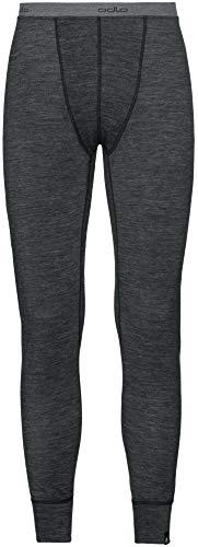 Odlo Natural Warm Collant Homme, Black Melange, FR : 2XL (Taille Fabricant : XXL)