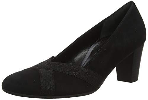 Gabor Damen Comfort Fashion Pumps, Schwarz (Schwar(Gz Glitter) 47), 40 EU