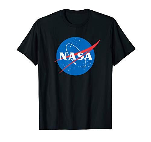 NASA Shirt, Meatball Logo Abzeichen Trendiges Grafik T-Shirt