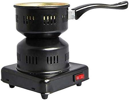 SweedZ Encendedor de carbón para shisha eléctrico de 450 W, 14 x 16 cm