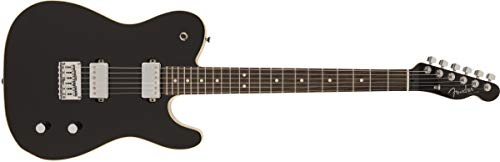 Fender MIJ Modern Telecaster HH Negro palisandro