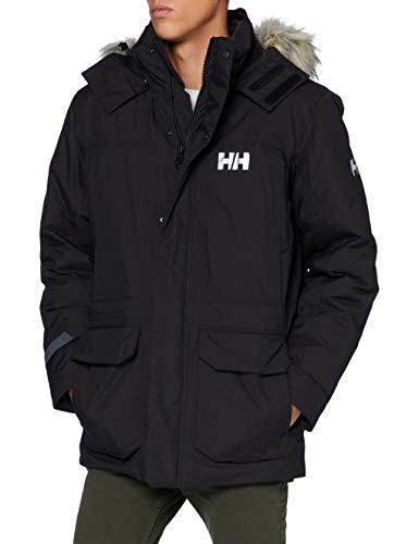 Helly Hansen Montes Parka Down Jacket, Hombre, Negro, L
