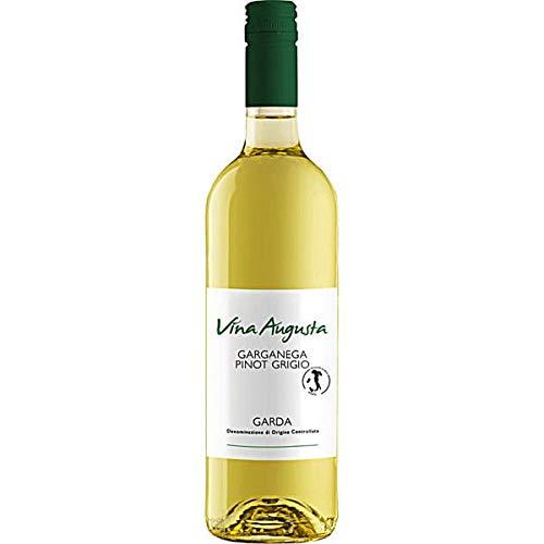 Vina Augusta Garganega Pinot Grigio Garda Weißwein trocken, 6er Pack (6 x 0.75 l)