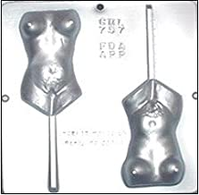 Naked Female Body Lollipop Chocolate Candy Mold 757
