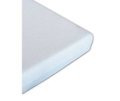 Vivere Zen - Materasso Memory Gel - Organic 18 - Fodera Cotone Bio Certificata Misura 160x190 cm - Rivestimento B: Cotone Bio/Canapa Bio (Non Imbottito) - a Mano Acqua Fredda