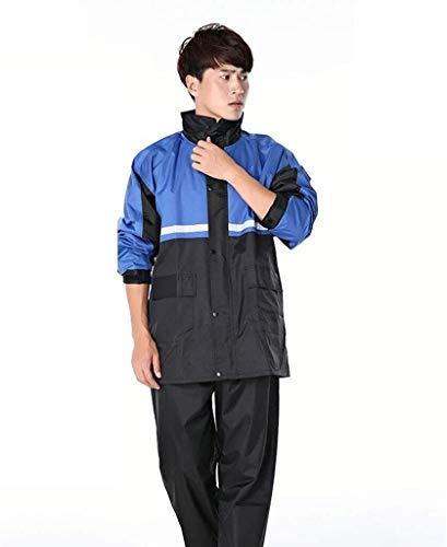 Ski Wear Outdoor kleding laag Waterdicht verdikking Motorrijden jassen Heren herfst en winter Women's (Color : Blue, Size : XXXL)