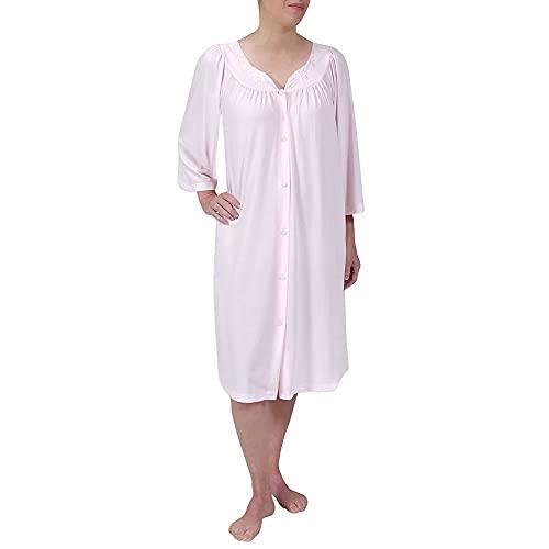 Miss Elaine Women's Robe, Pink, Large