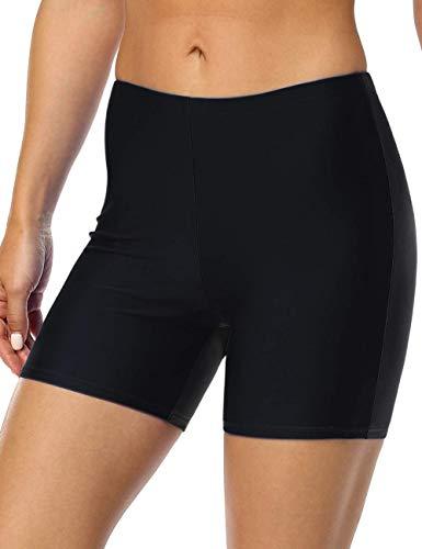 Firpearl Women's Board Shorts UPF50+ Sport Surf Shorts Swimsuit Bottom Swim Shorts