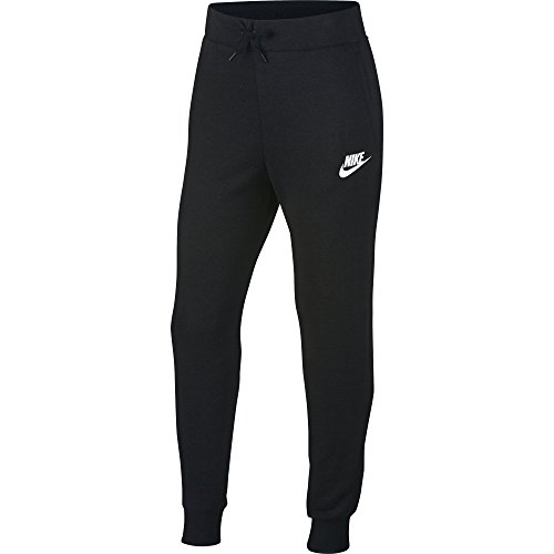 Nike Sportswear 939451-010, Pantaloni Unisex Adulto, Nero/Bianco, S