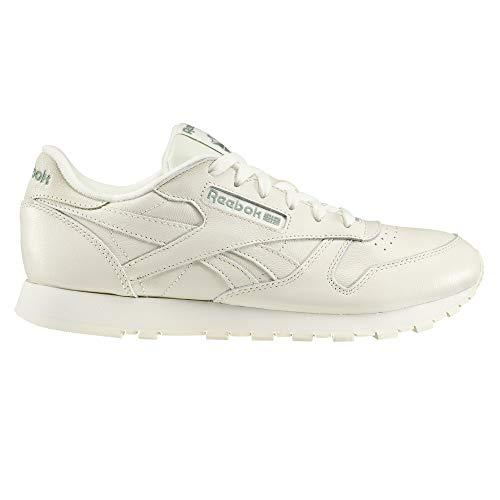 Reebok Damen Classic Leather Sneaker Weiß, 40