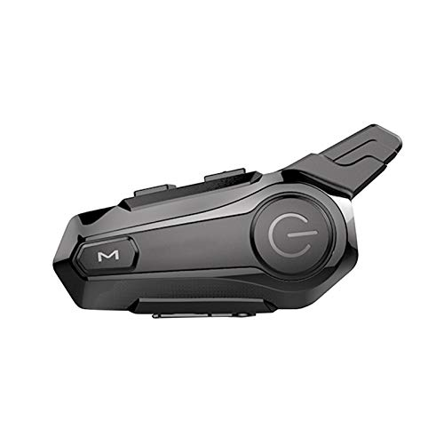 KKmoon Auriculares Intercomunicador Casco Moto Intercomunicador BT para Motocicleta, Auriculares Casco Inalambrico Sistema de Comunicación Universal Impermeable para Motocicleta ATV Dirt Bike