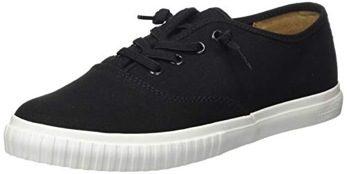 Timberland Newport Bay Bumper Toe Oxford, Zapatillas Mujer, Negro Black Canvas, 41 EU