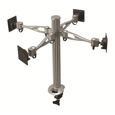 Cotytech Wandhalterung Quad-Monitor-Schreibtisch Mount Single Arm mit Tülle Basis (dm-41a1-g)