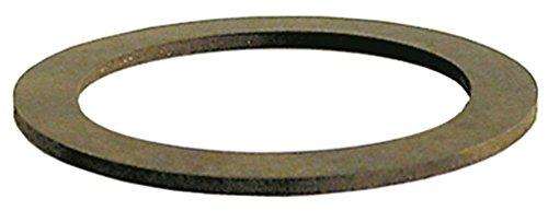 Silanos Flachdichtung für Spülmaschine N1300, 1300S, GLS945S, 1300, 800, 900 Aussen 80mm D2 60mm Innen 60mm Gummi