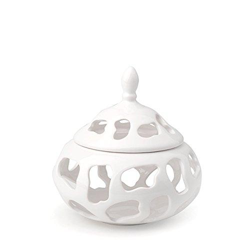 hervit Art. 26833 Boîte porcelaine Tunnel vache Dia.19 x 20 cm