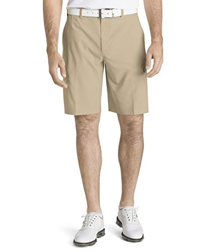 IZOD Men's Golf SwingFlex Cargo Short, Red Khaki, 34