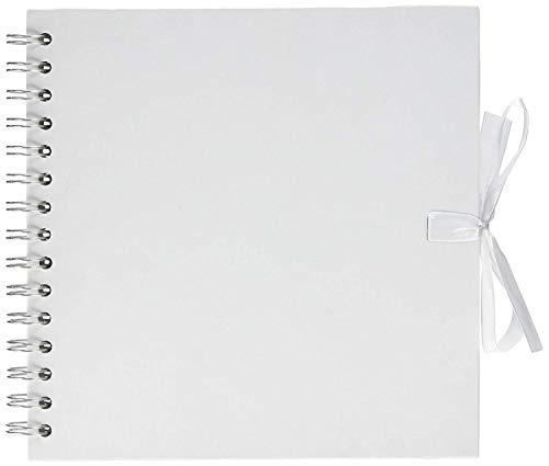 Artemio - Álbum de recortes (en espiral, 20 x 20 cm), color blanco