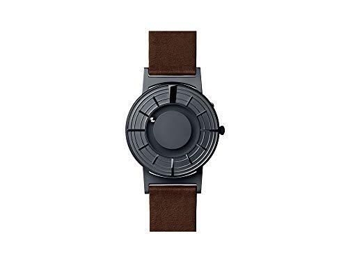 Reloj de Cuarzo Eone Bradley Edge Graphite, 40 mm, Gris, Piel, BR-Edge-GT