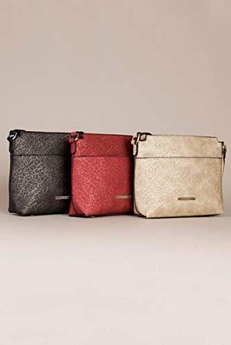 Luxe Leopard Messenger Bag