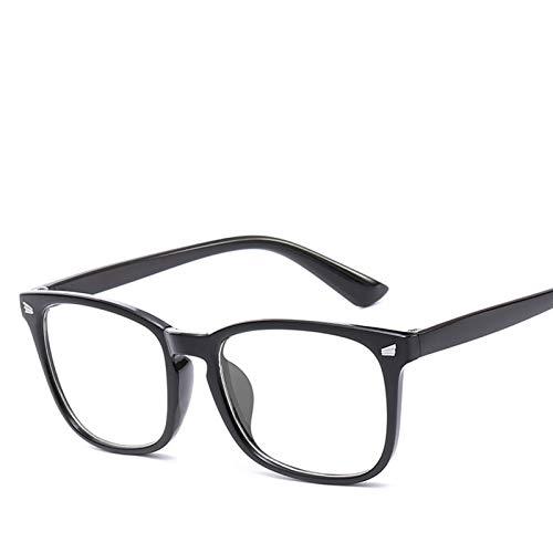 De Luz Azul Gafas 3 unids Blue Light Glasses Hombres Gafas de computadora Gafas Gafas Transparente Eyewear Marco Mujeres Anti Blue Ray Gafas Gafas Para Juegos (Frame Color : B)