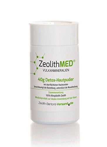 Zeolith MED 40g Detox-Hautpuder