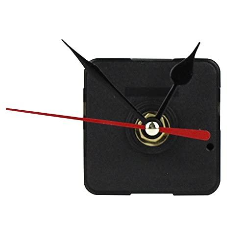 Reloj de cuarzo con movimiento de motor de alto esfuerzo de torsión y mecanismo de repuesto negro con manecillas de reloj medidor de ángulo digital